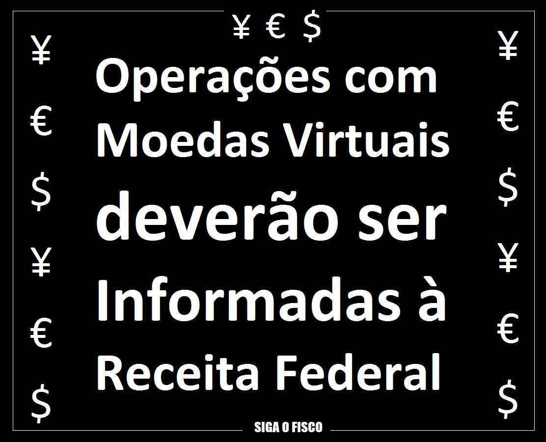PJ e PF deverão informar à Receita Federal operações com moedas virtuais 2