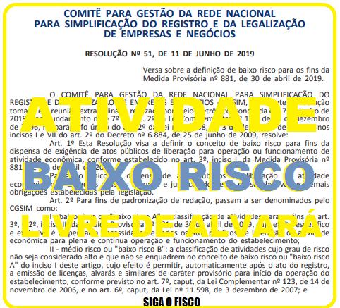 """Governo divulga lista de atividades """"livres"""" de Alvará de Funcionamento 1"""