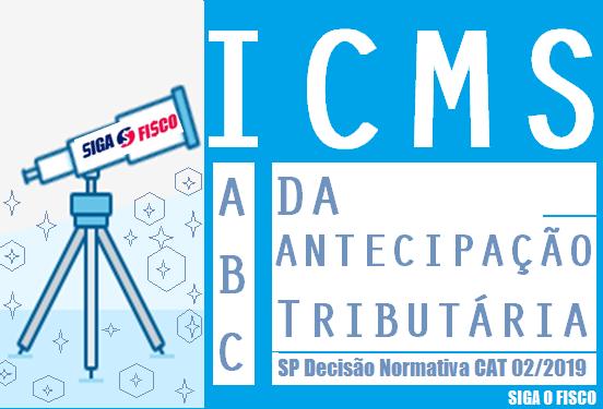 SP publica o ABC da Antecipação Tributária do ICMS 1