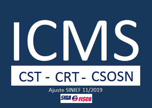ICMS – Confaz altera CST e CRT e extingue CSOSN 1