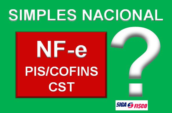 Simples Nacional x CST de PIS e COFINS 1