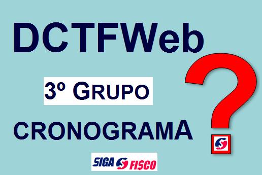 3º Grupo: Receita Federal suspende exigência da DCTFWeb 1