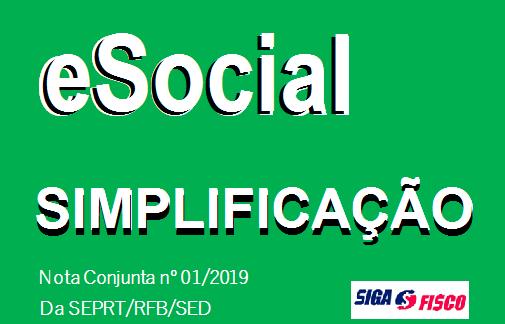 eSocial – Governo esclarece Processo de Simplificação da obrigação 1