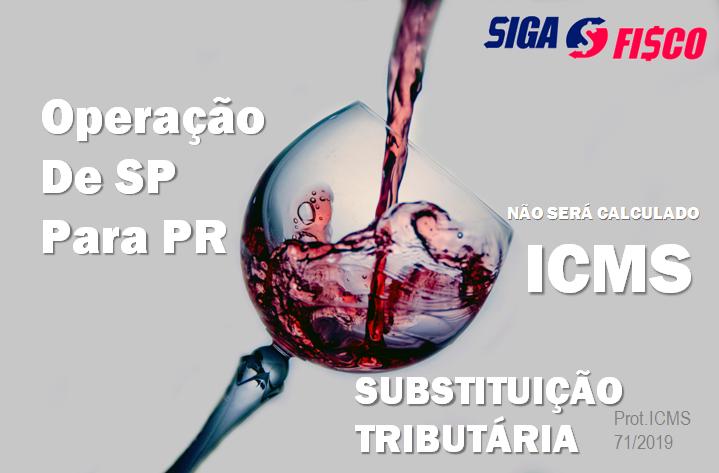 ICMS-ST não será calculado nas operações com Vinhos destinadas ao Paraná 1