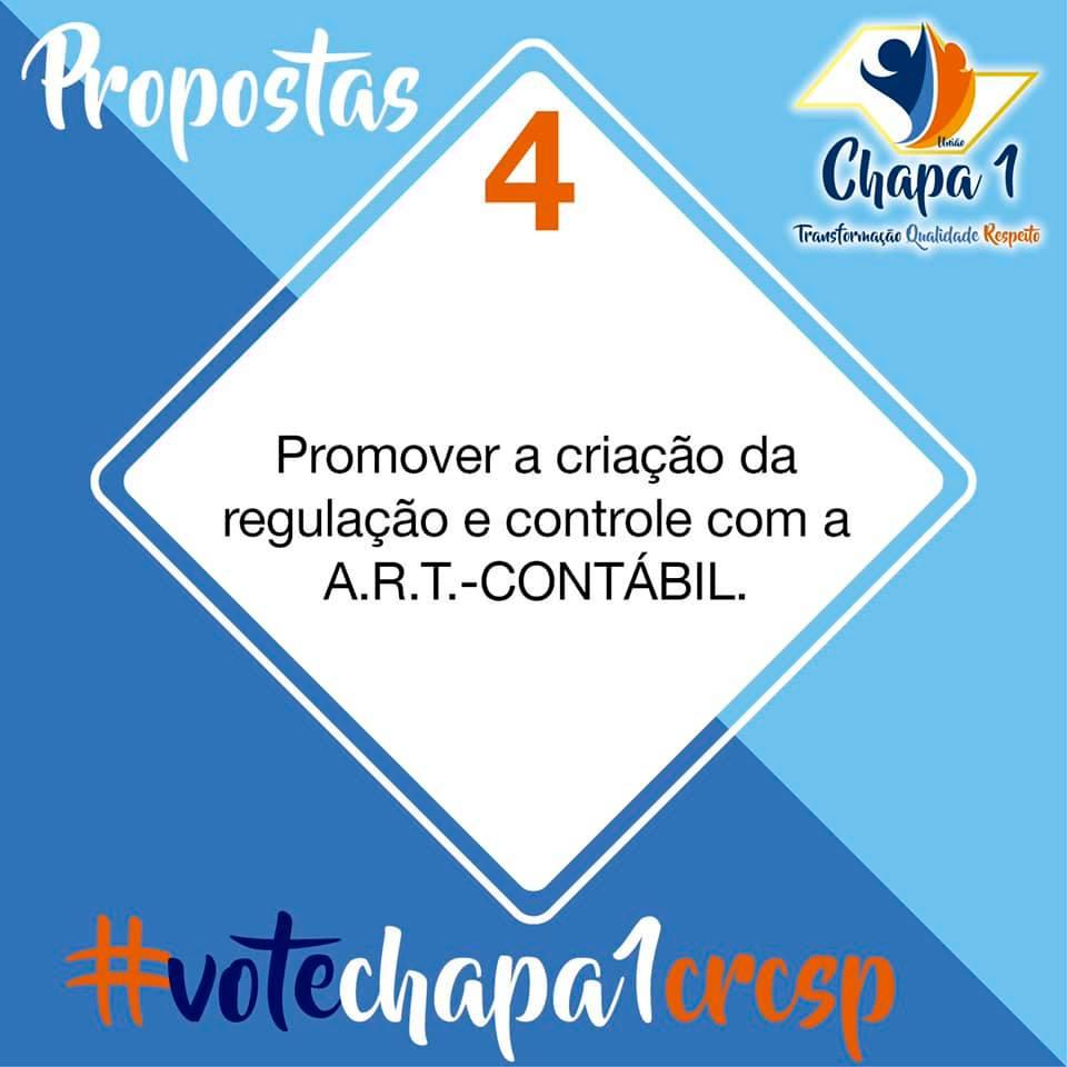 CRC SP – Eleições 2019, propostas da Chapa 1 5
