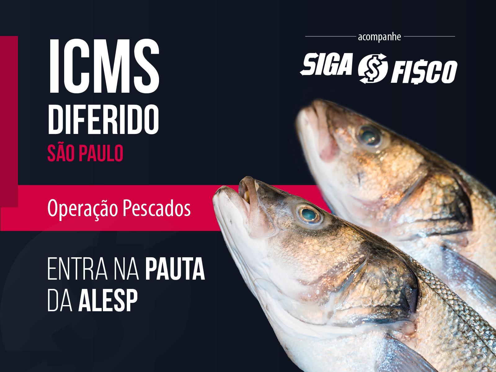 ICMS Diferido sobre pescados entra na pauta da Alesp 1
