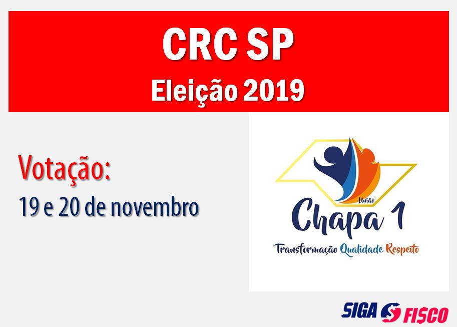 CRCs: Eleições 2019, votação dias 19 e 20 de novembro 1