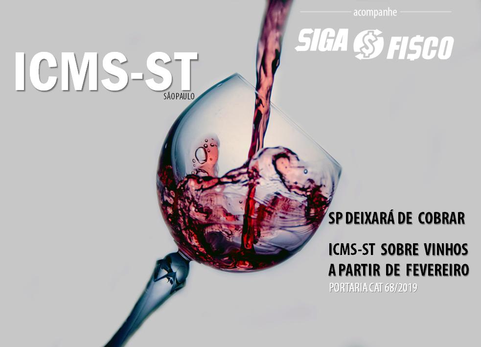 SP deixará de cobrar ICMS-ST sobre vinhos a partir de fevereiro 1