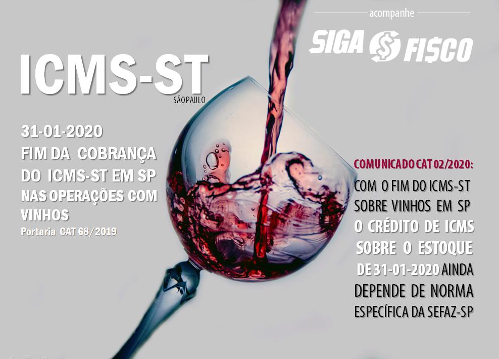 ICMS: SP retira vinho da Substituição Tributária a partir de fevereiro de 2020 1