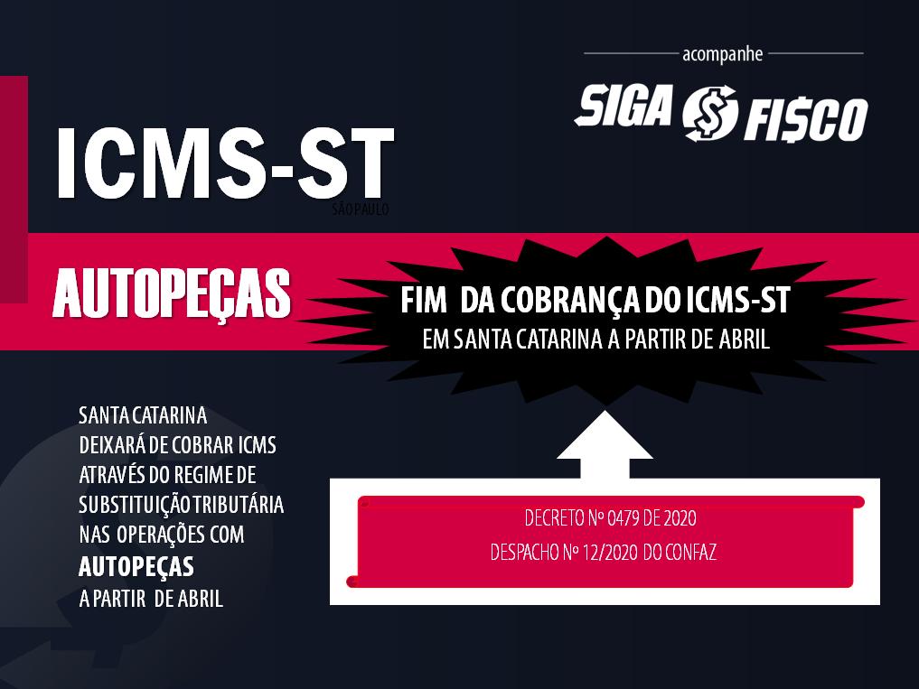 ICMS-ST: Santa Catarina retira autopeças da Substituição Tributária 1