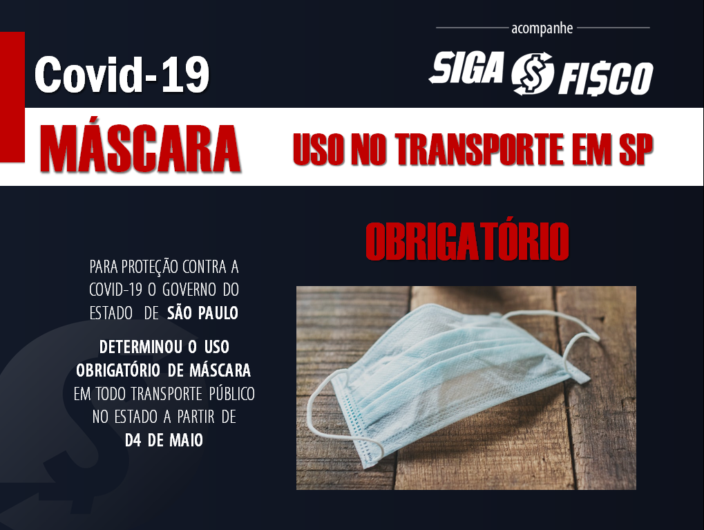Covid-19: Governo de SP determina uso obrigatório de máscaras nos transportes 1